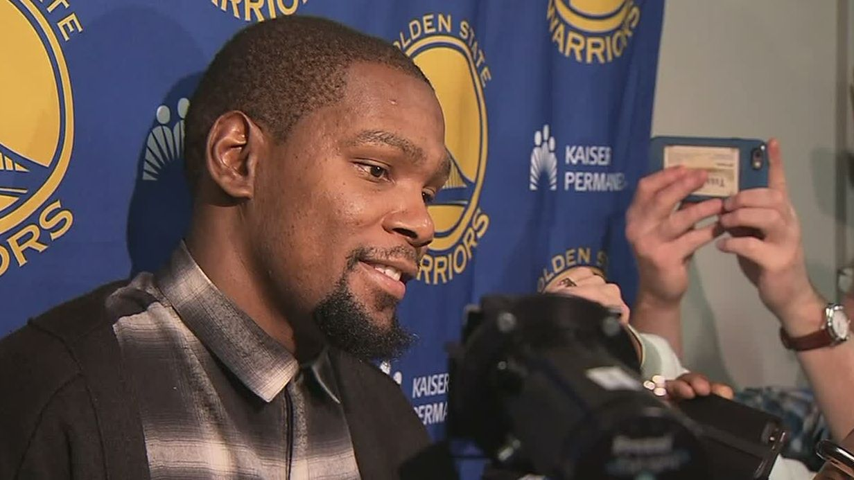 Durant says all the trash talk is just 'part of the game'