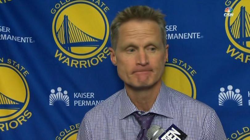 Kerr resting starters against Spurs