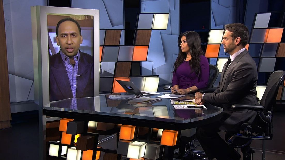 Stephen A. thought Iguodala's fine should have been stiffer