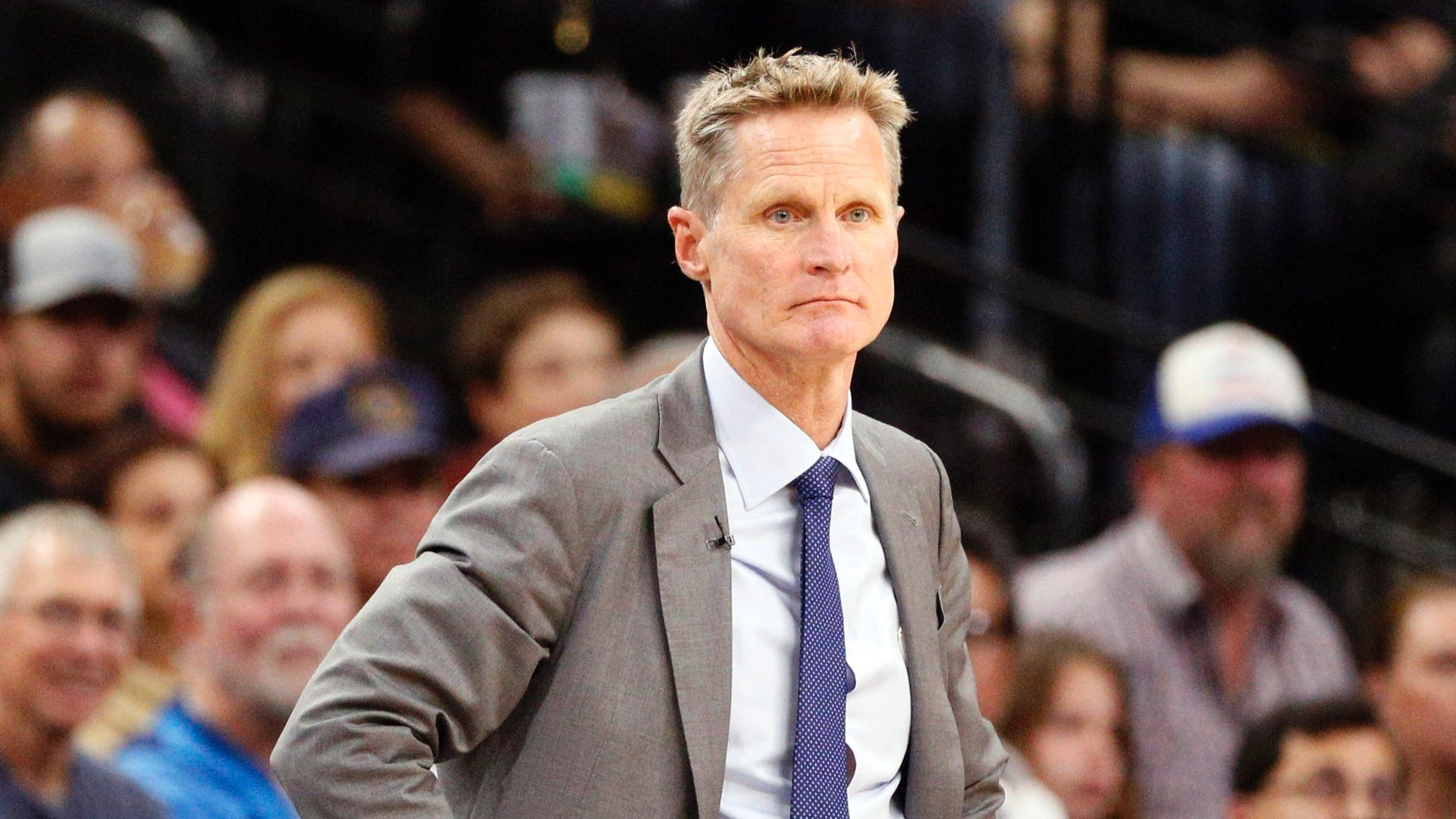 Kerr says LaVar Ball is not helping his kids