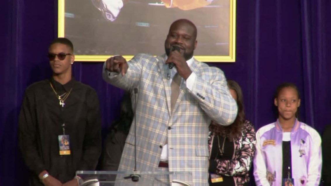 Shaq to Kobe: 'Couldn't have done it without you'