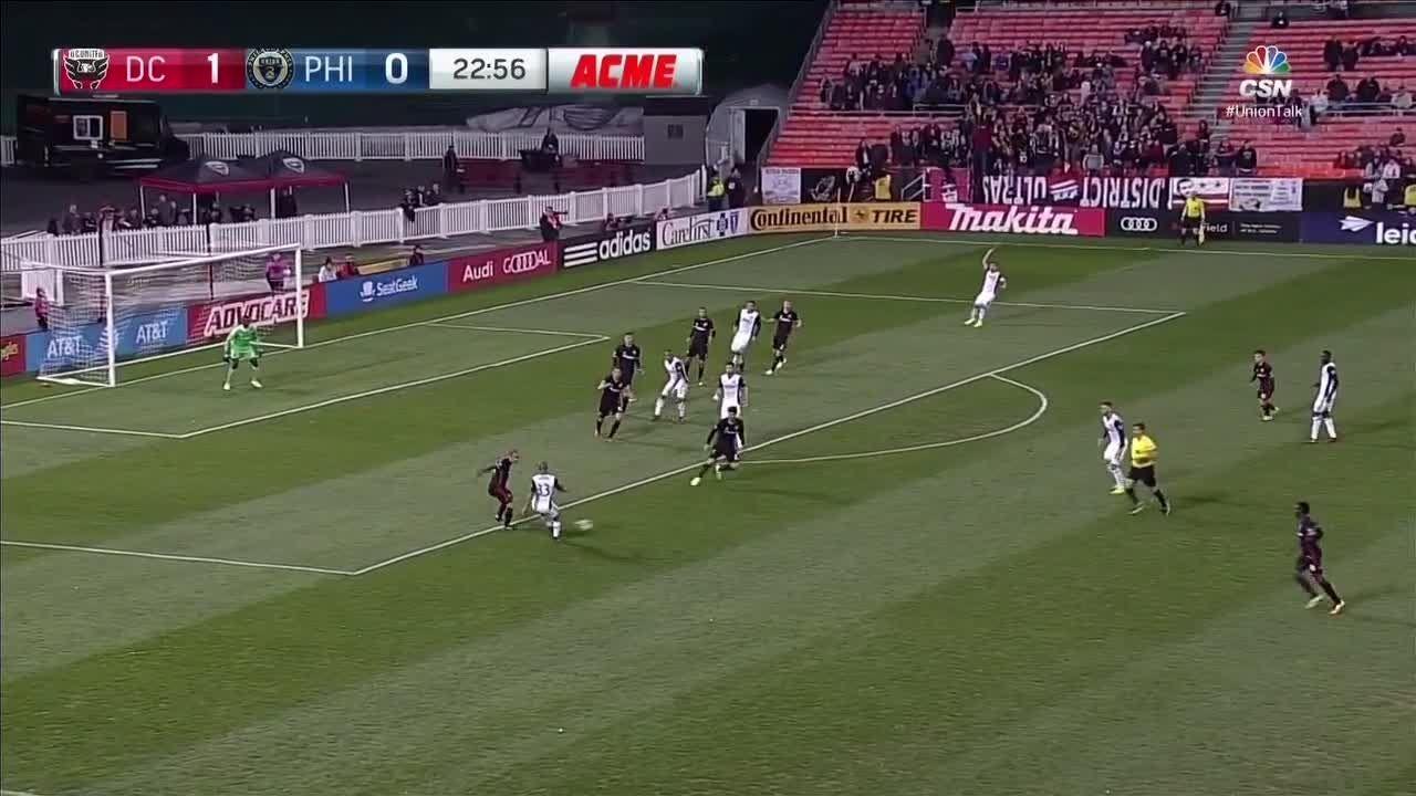Hamid leaps to deny goal - Via MLS