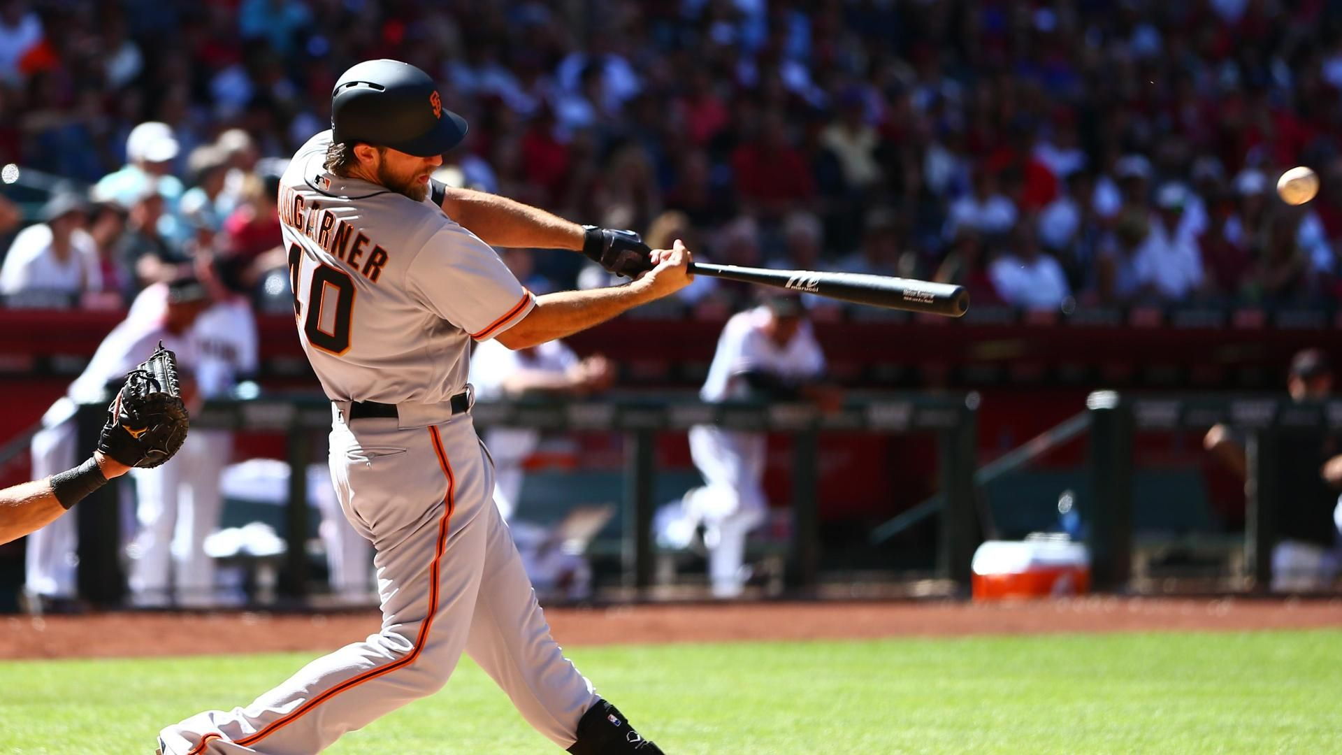 Bumgarner blasts two homers on Opening Day