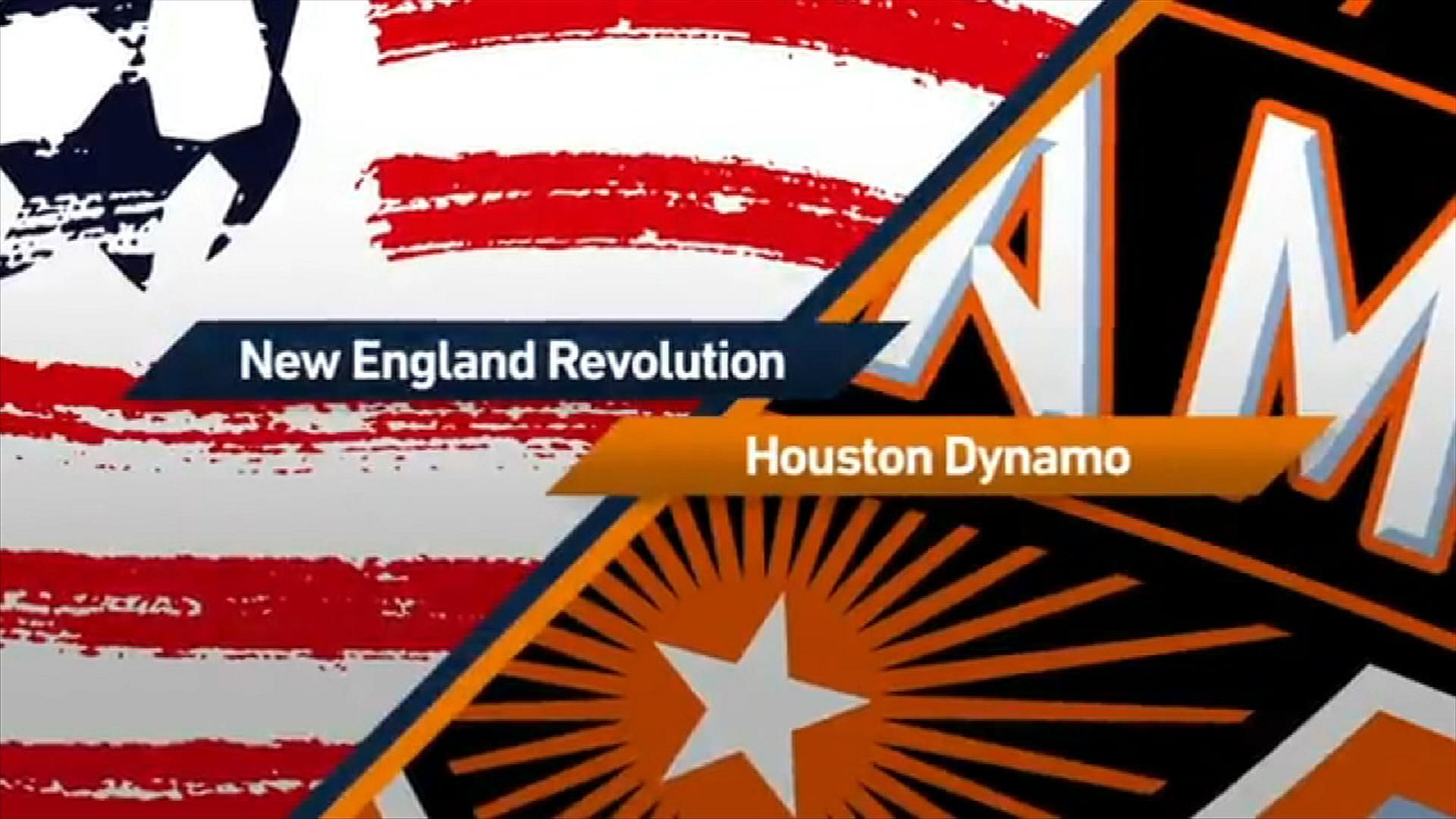 Revolution 2-0 Houston Dynamo: Revs roll at home - Via MLS