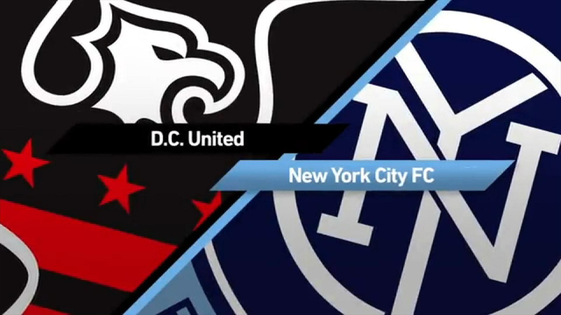 D.C. United 2-1 NYCFC: Hosts avenge blowout - Via MLS