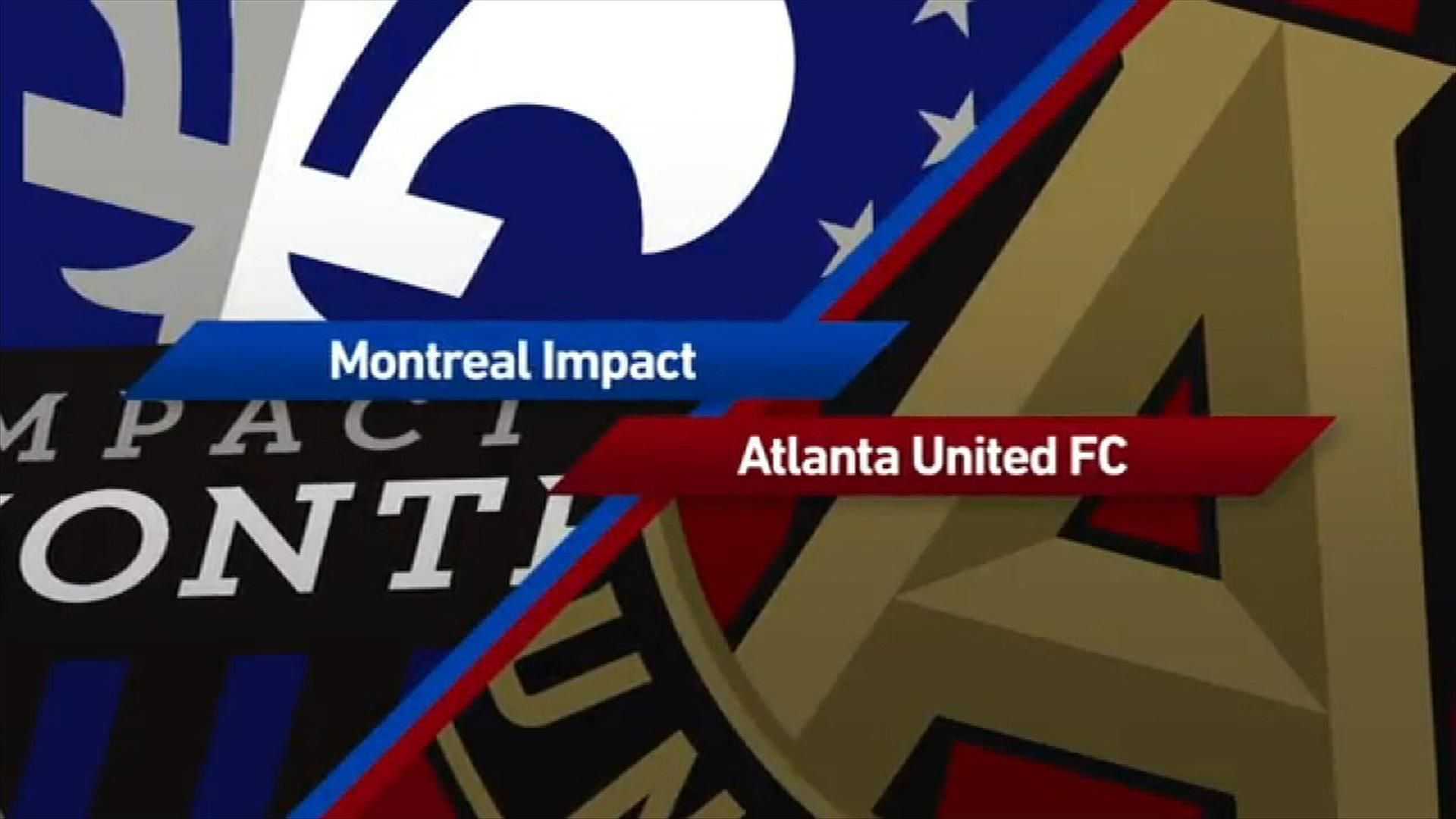Montreal 2-1 Atlanta: Impact win it late - Via MLS