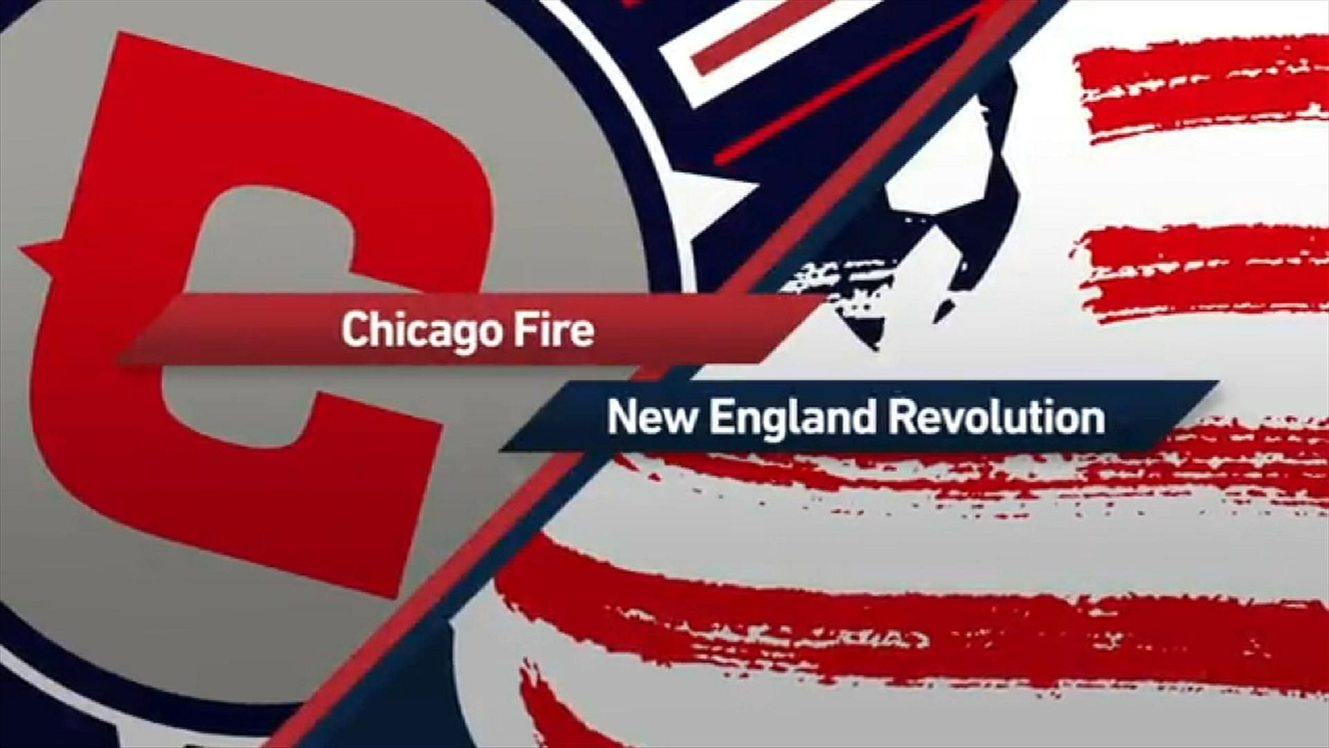 Chicago 3-0 New England: Fire rout Revs - Via MLS