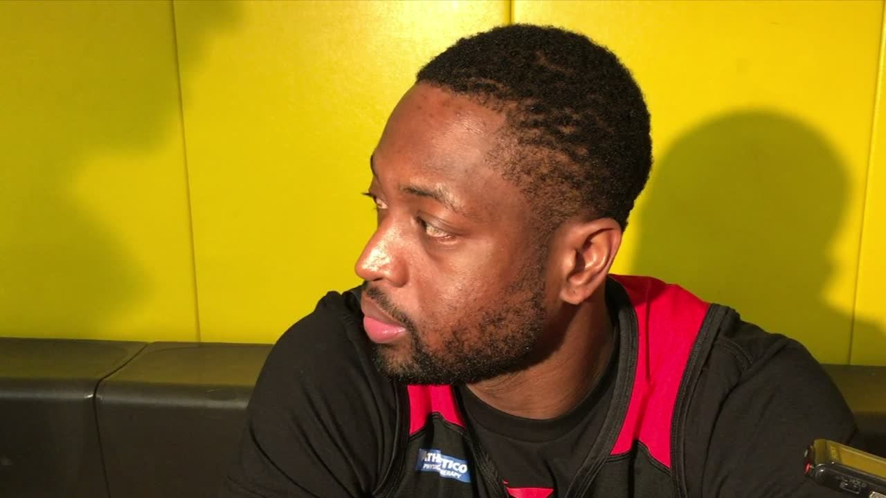 Wade draws comparison between Butler and LeBron