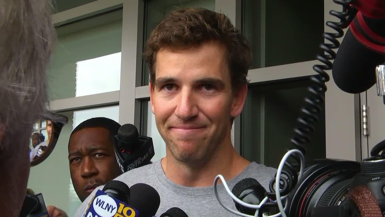 Eli vehemently denies memorabilia fraud
