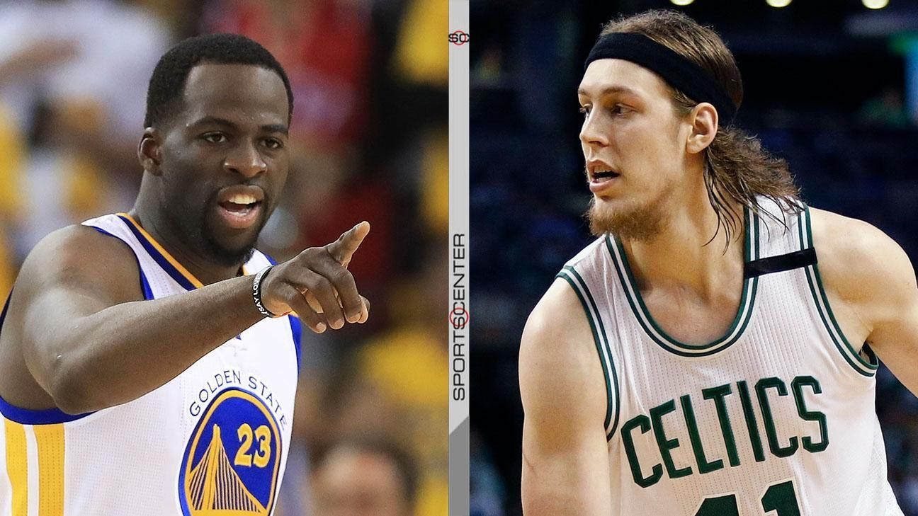 Draymond calls Olynyk a 'dirty player'