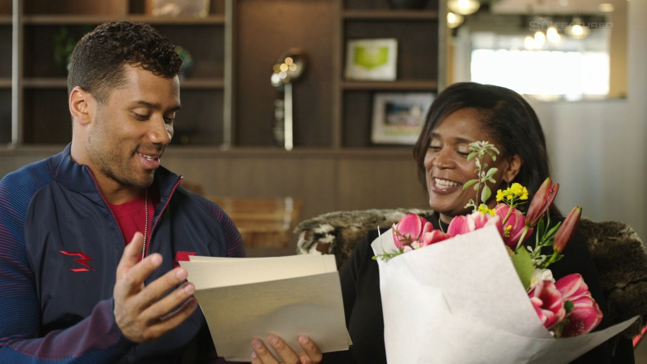 SC Featured: Dear Mom Russell Wilson