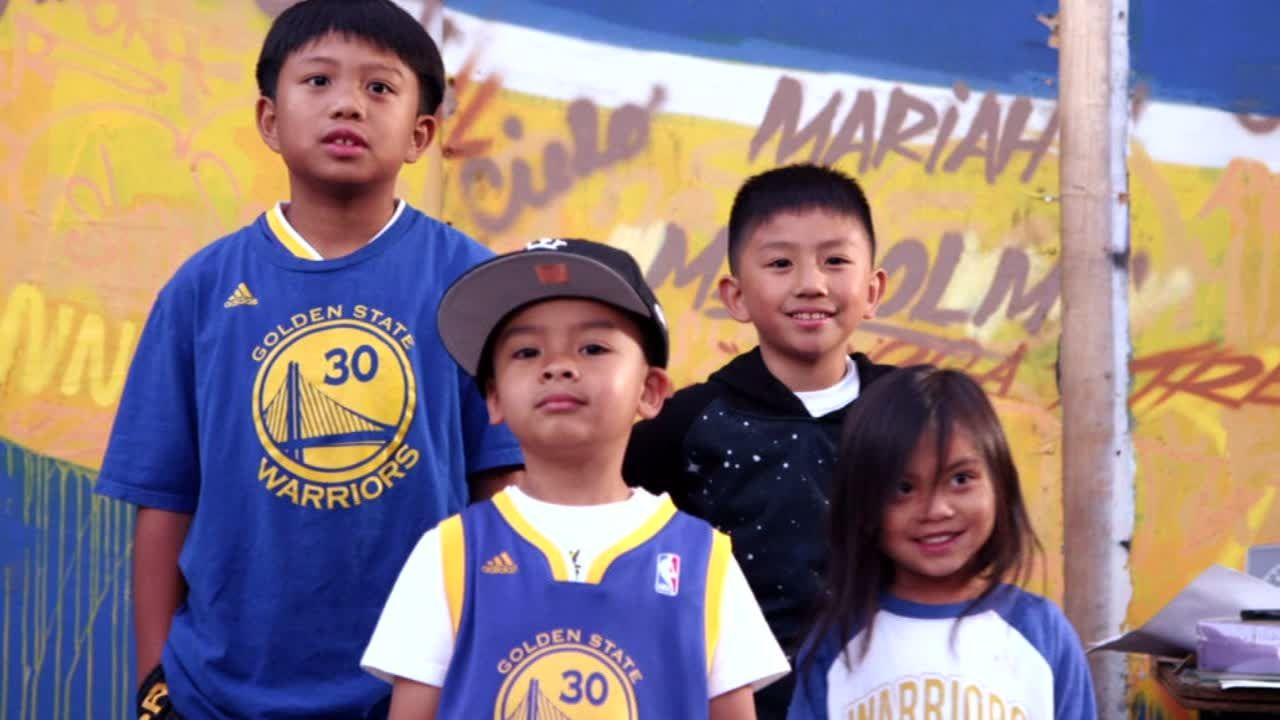 Curry inspiring kids to 'be like Steph'