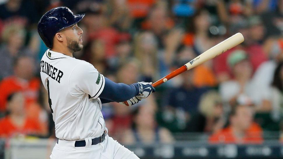Springer dinger keys Astros' win
