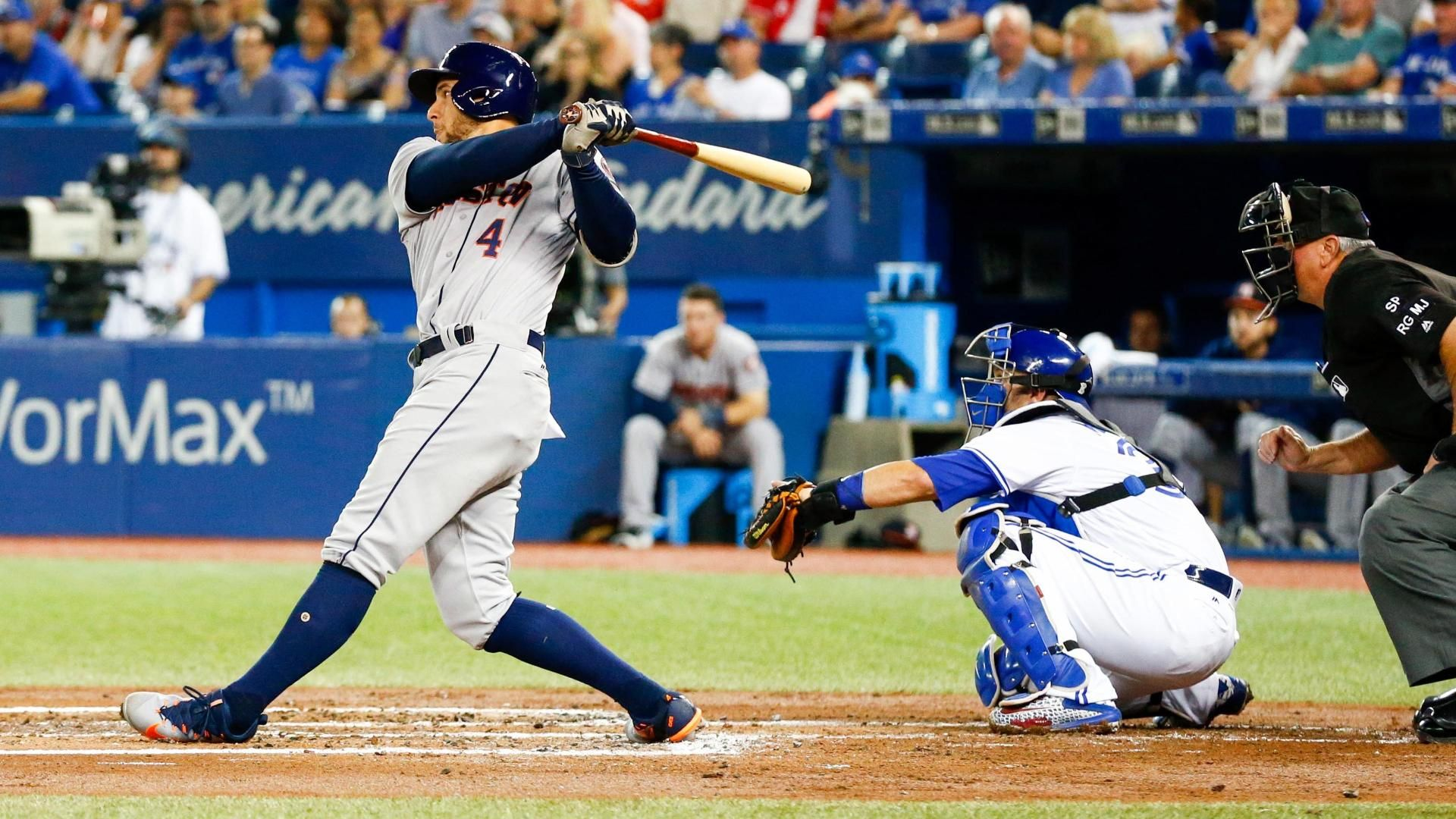 Springer sets MLB mark with two homers on Friday