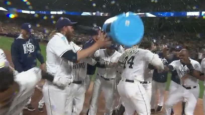 Sanchez hits first career walk-off