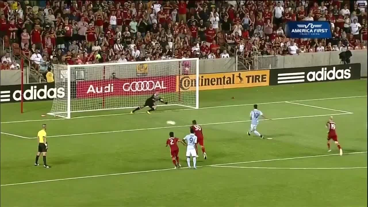 Feilhaber levels from the spot - Via MLS