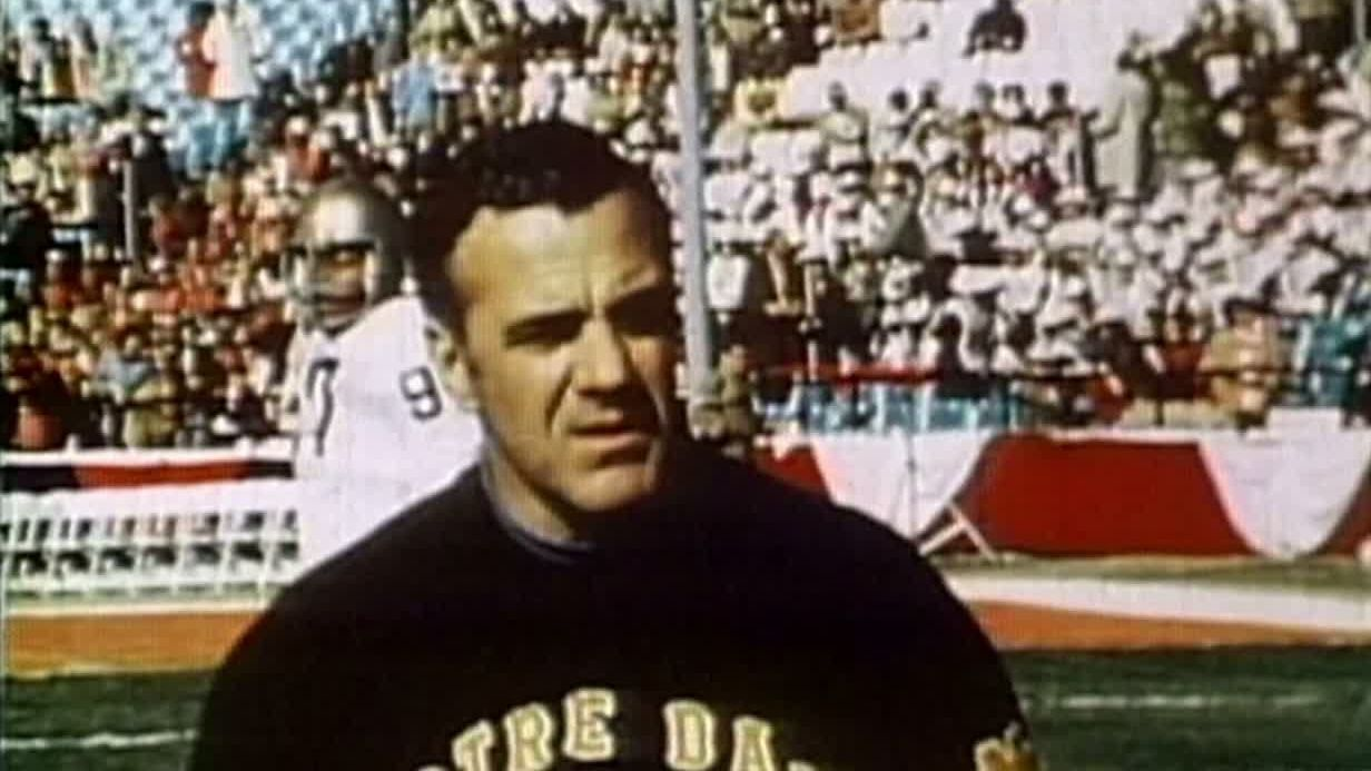 Legendary Notre Dame coach Parseghian dies at 94