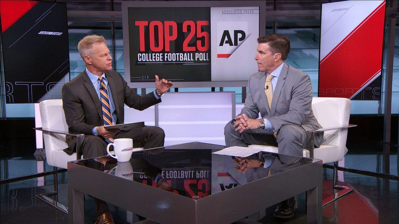 Davis says AP poll should change drastically after Week 1