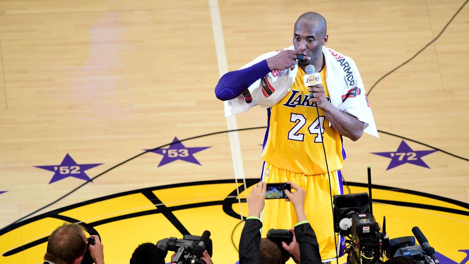 Kobe's legendary Laker career