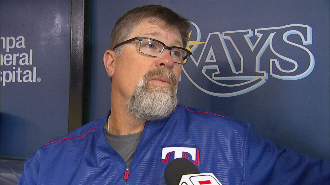 Rangers coach Brocail deeply moved by relief efforts