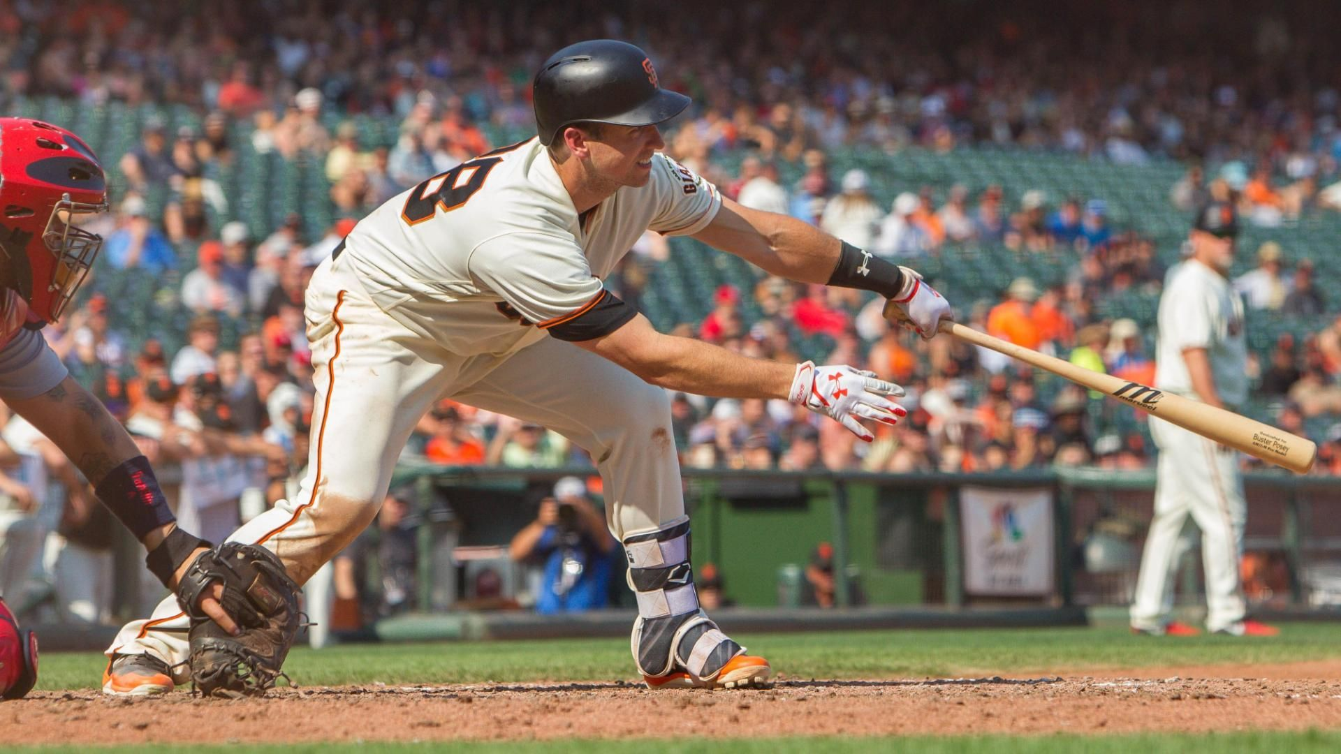 Posey ties it up in the bottom of the ninth