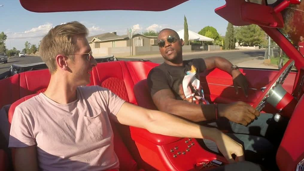 Patrick Peterson's eye-popping car collection