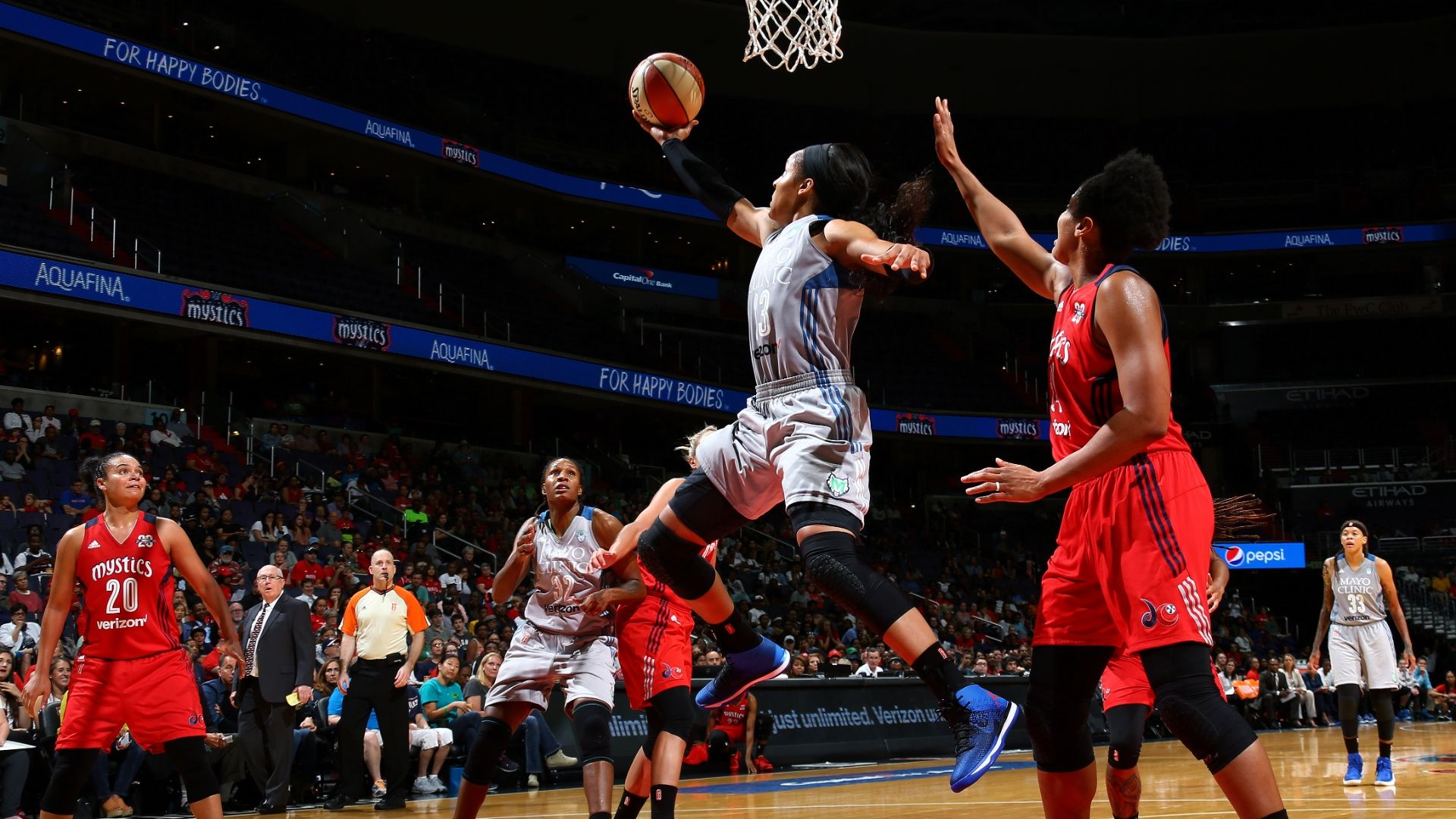 Lynx sweep Mystics, onto WNBA Finals