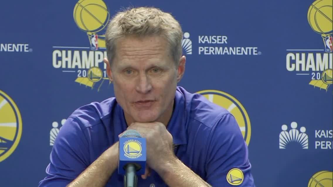 Kerr expects Warriors to be better