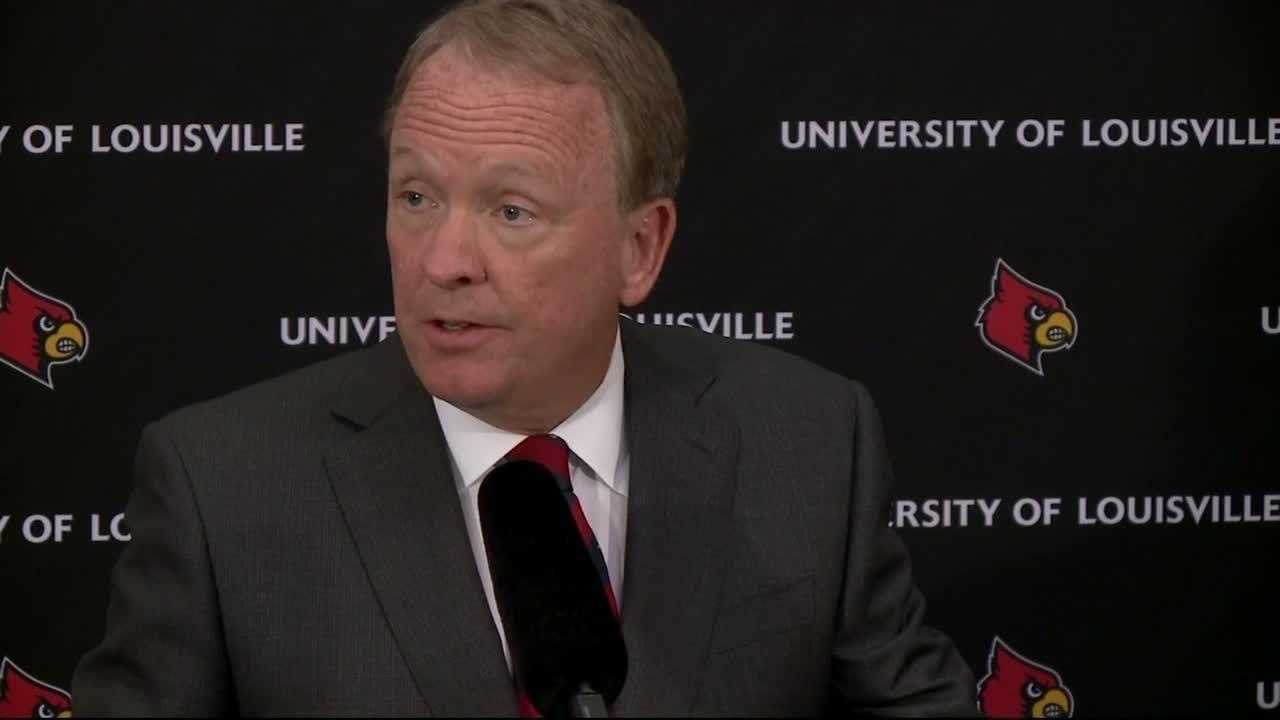 Louisville interim president vows 'better days are ahead'