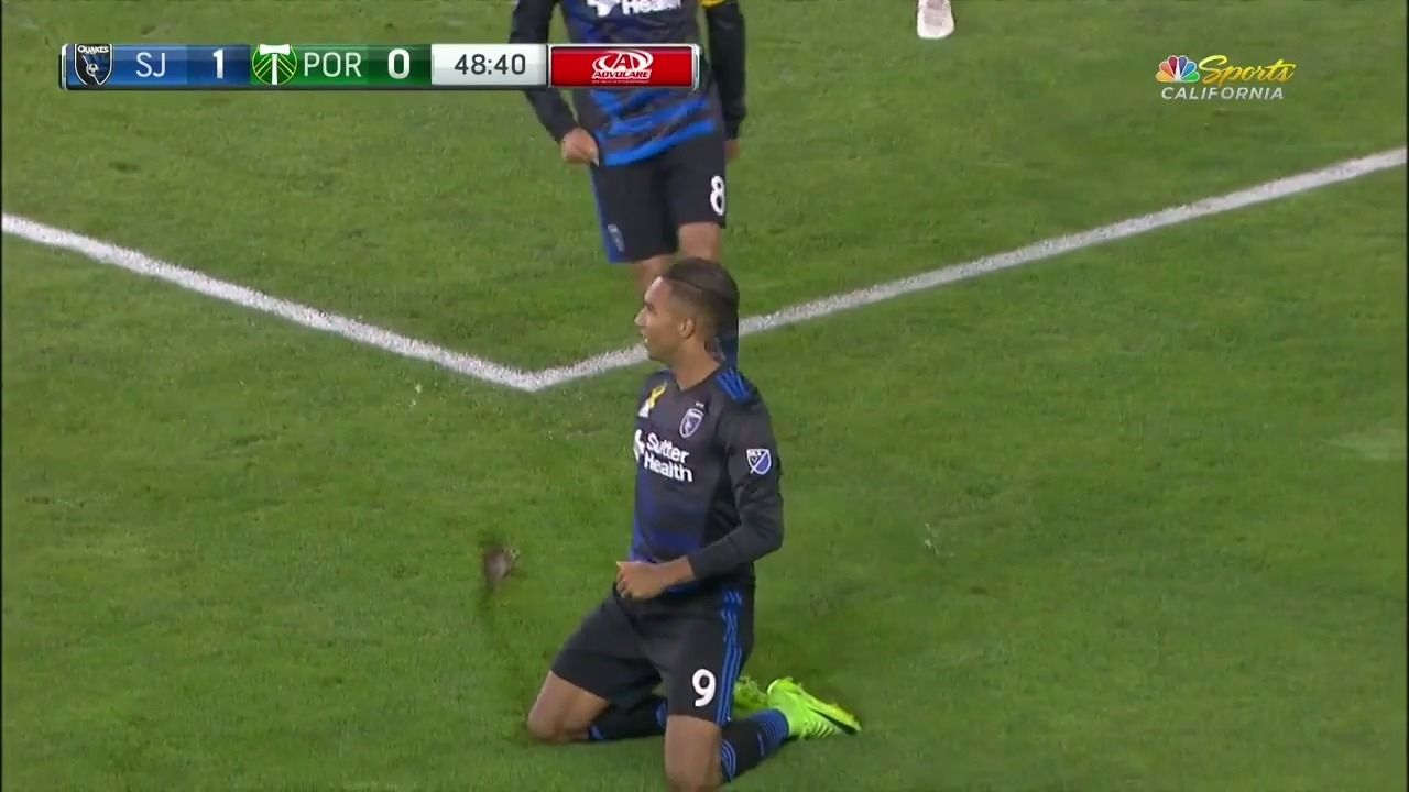 Hoesen scores at the near post to double Quakes' lead - Via MLS