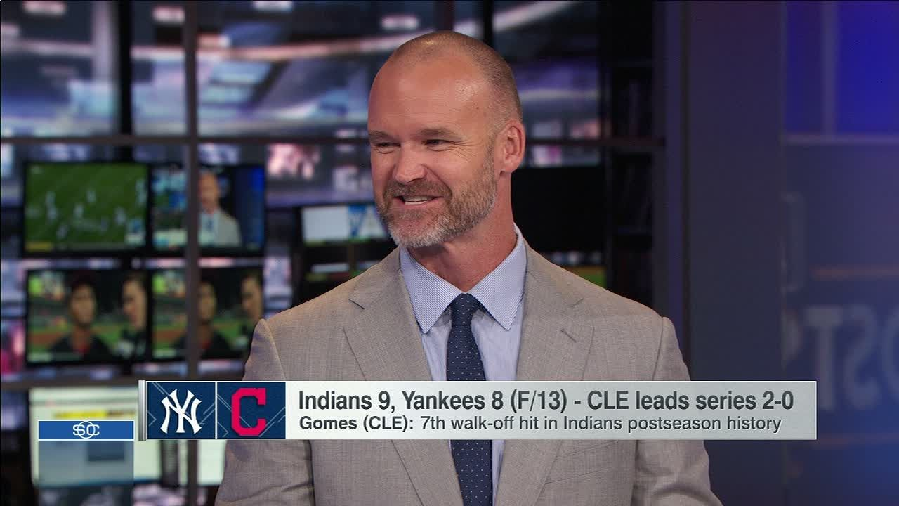 Ross on keys for Indians to close out Yankees