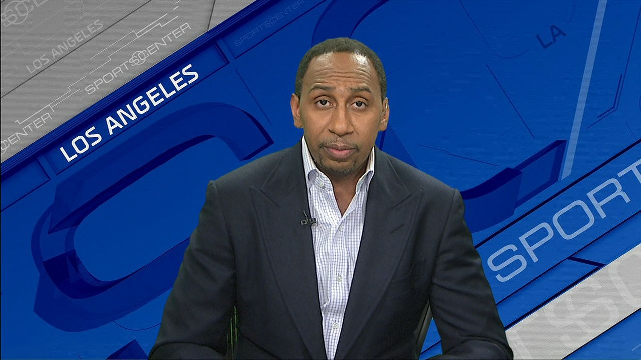 Stephen A on Giants: 'Season's over'
