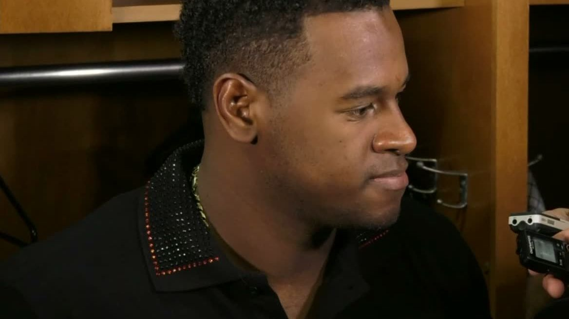 Severino says he is feeling great after injury scare