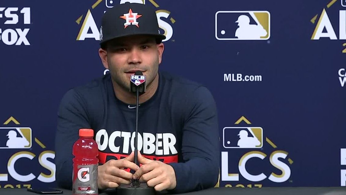 Altuve says Judge is very deserving of MVP award