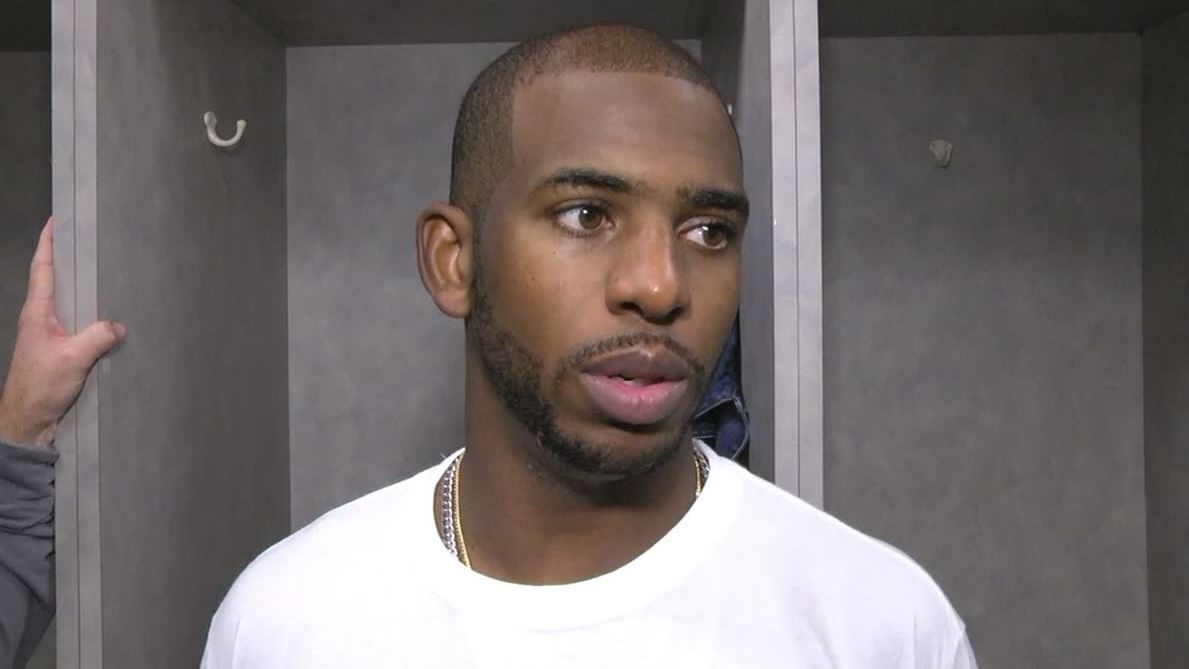 CP3 happy to step off for Eric Gordon