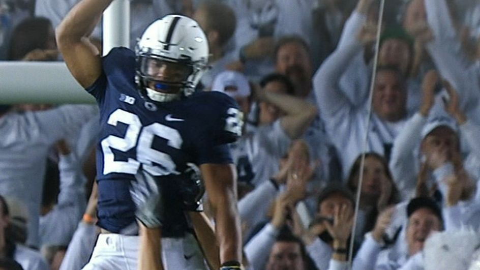 Barkley, Penn State roll past Michigan