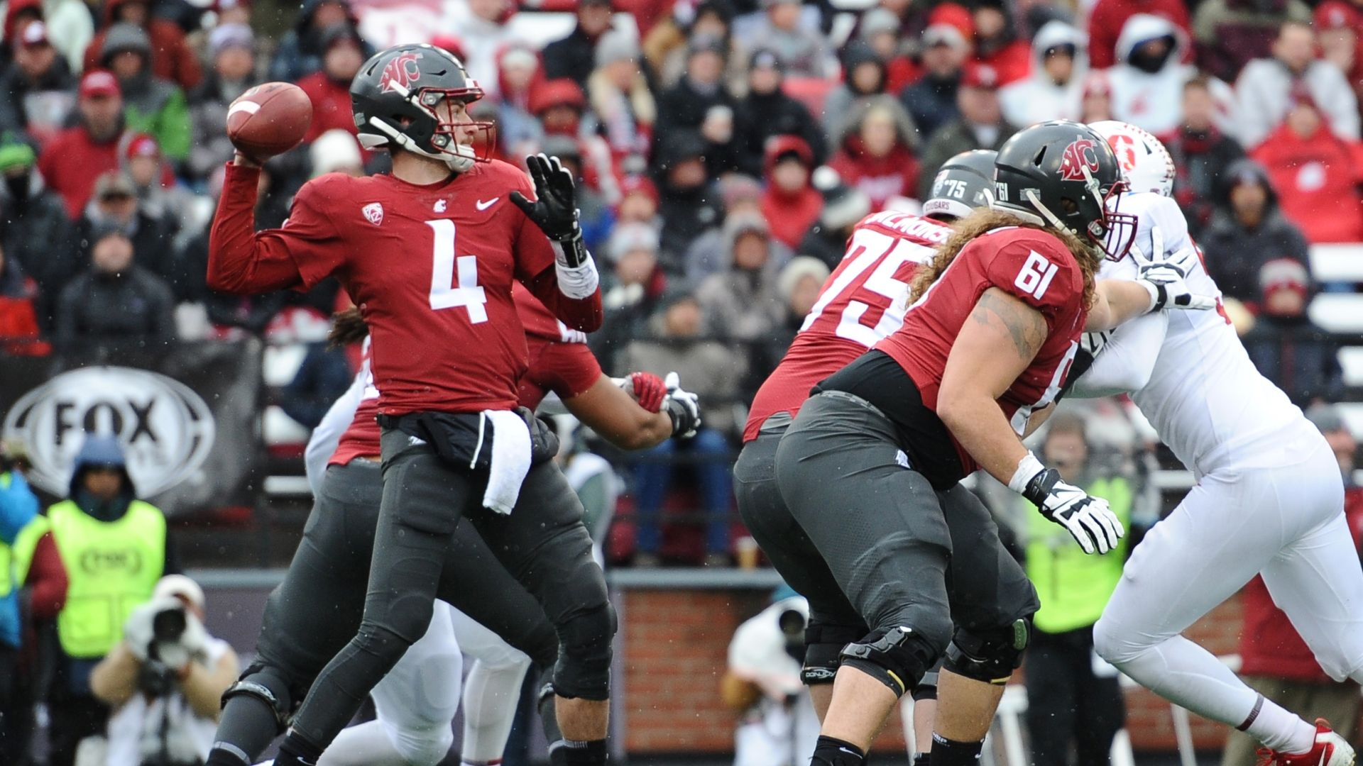 Falk leads Washington State past Stanford