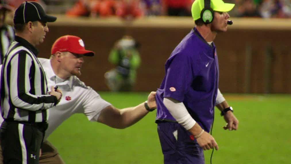 Clemson's get back coach