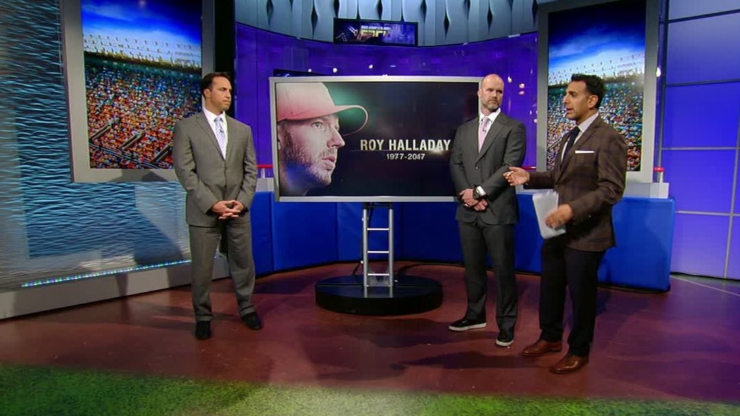 Teixeira, Ross remember Halladay's work ethic