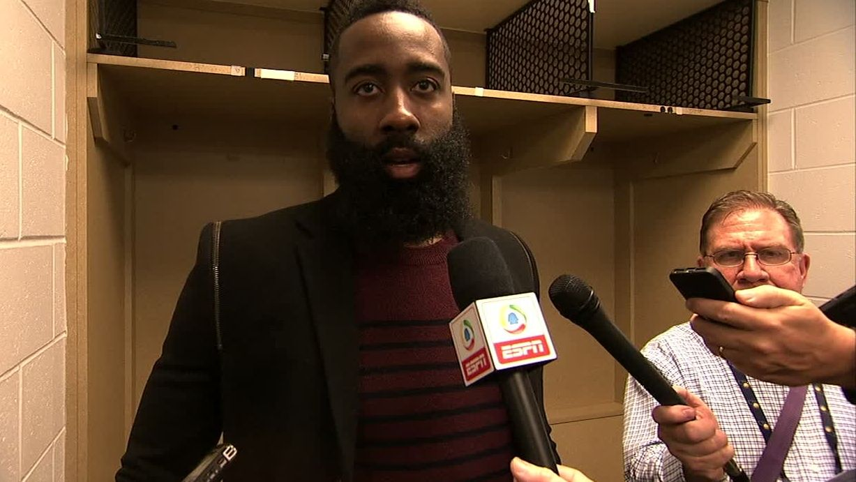Harden credits Houston's communication for win