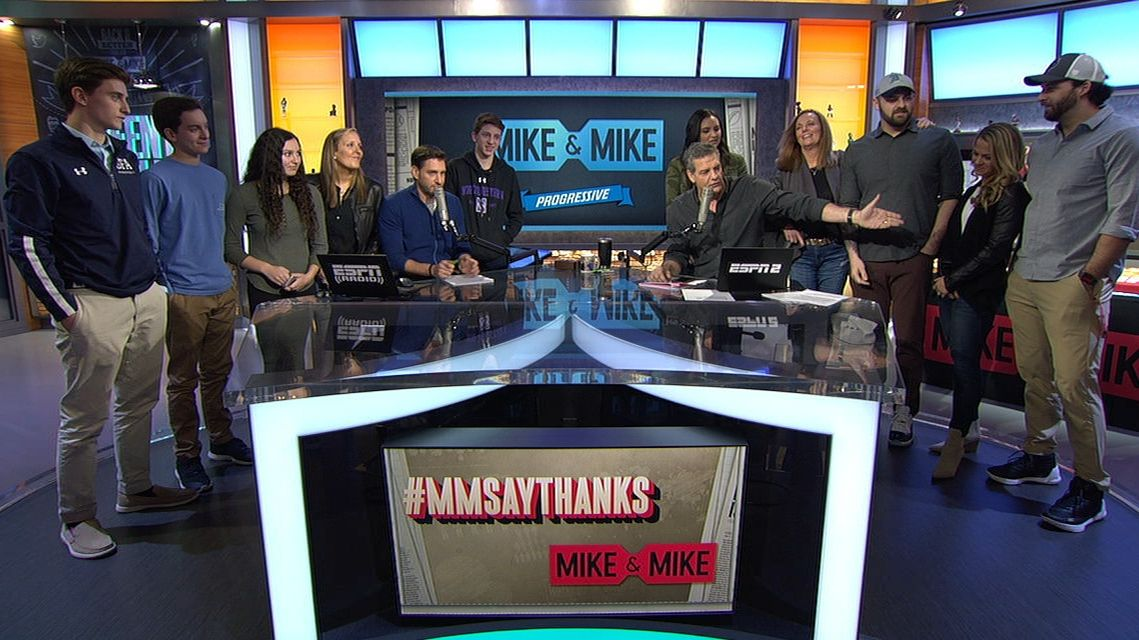 Mike and Mike's final farewell