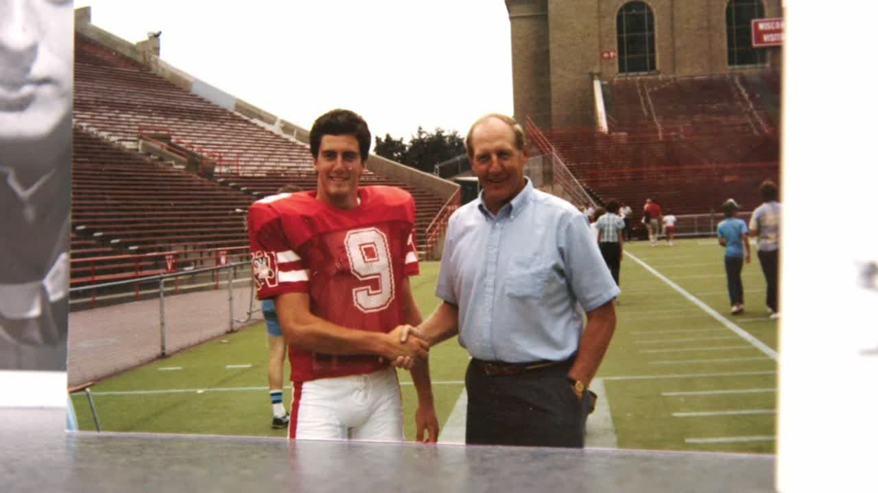 Chryst's Wisconsin roots go back to his father