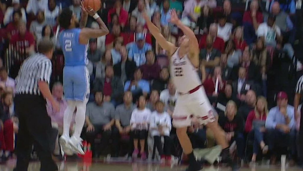 Tar Heels roll past the Cardinal