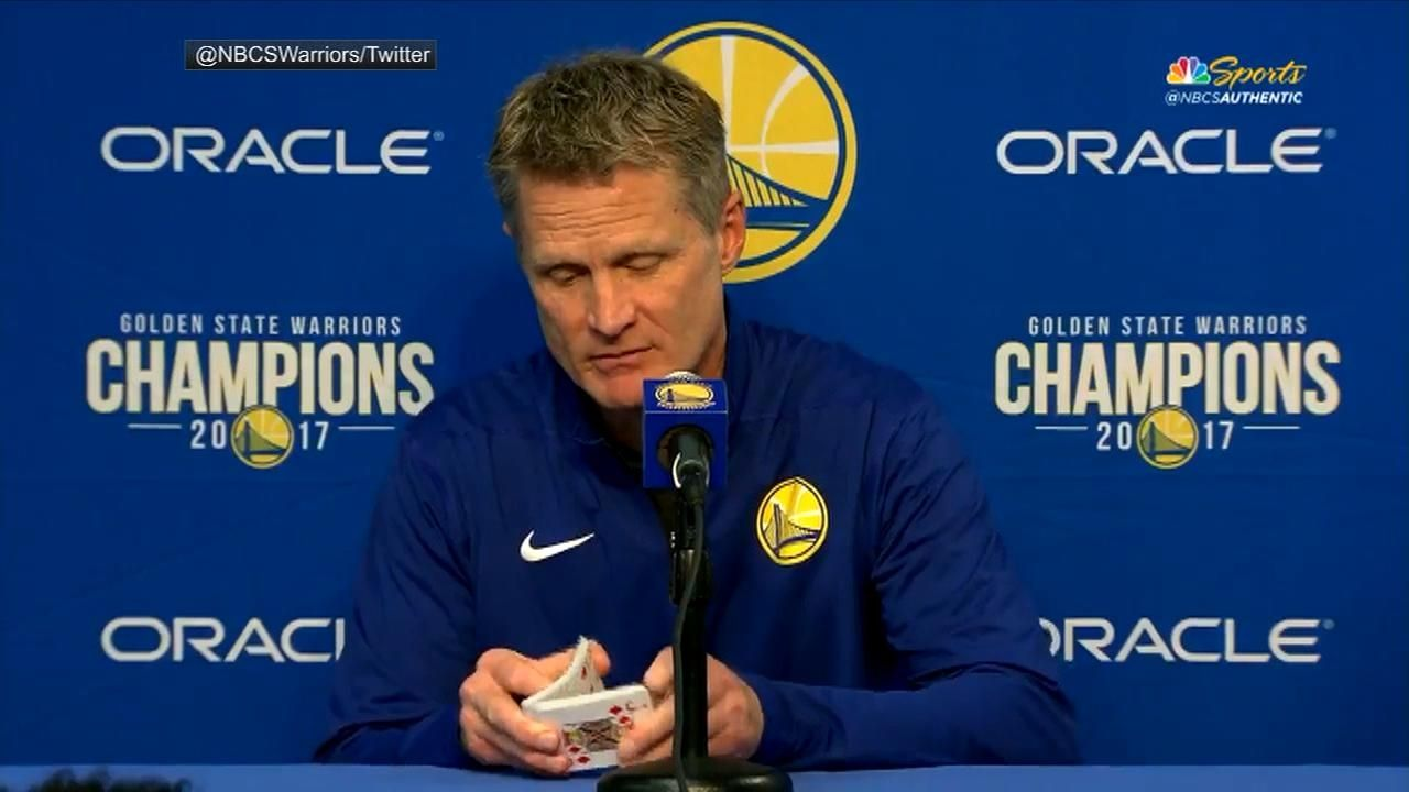 Kerr shuffles cards after announcing lineup