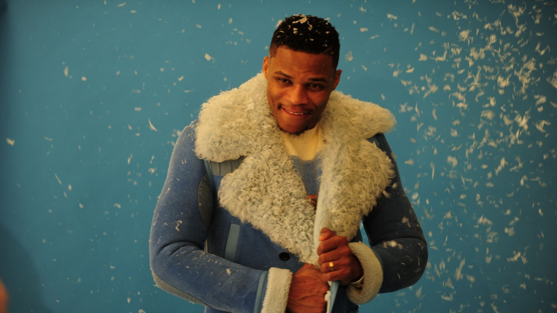Westbrook's confidence makes him a fashion icon