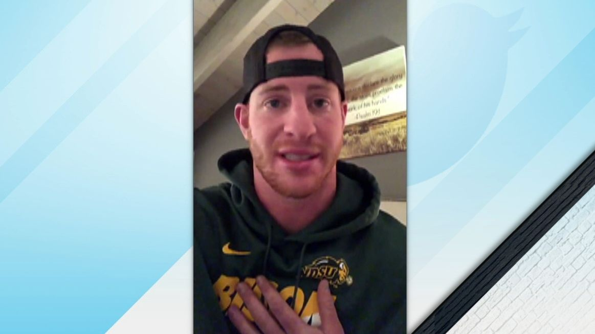 Wentz is humbled by outpouring of support