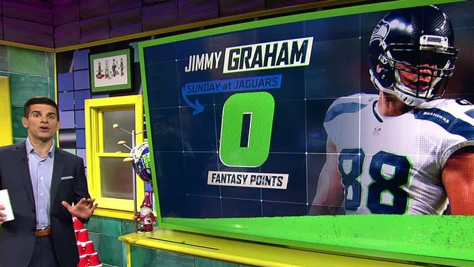 Yates: 'Jimmy Graham still a set it and forget it TE'