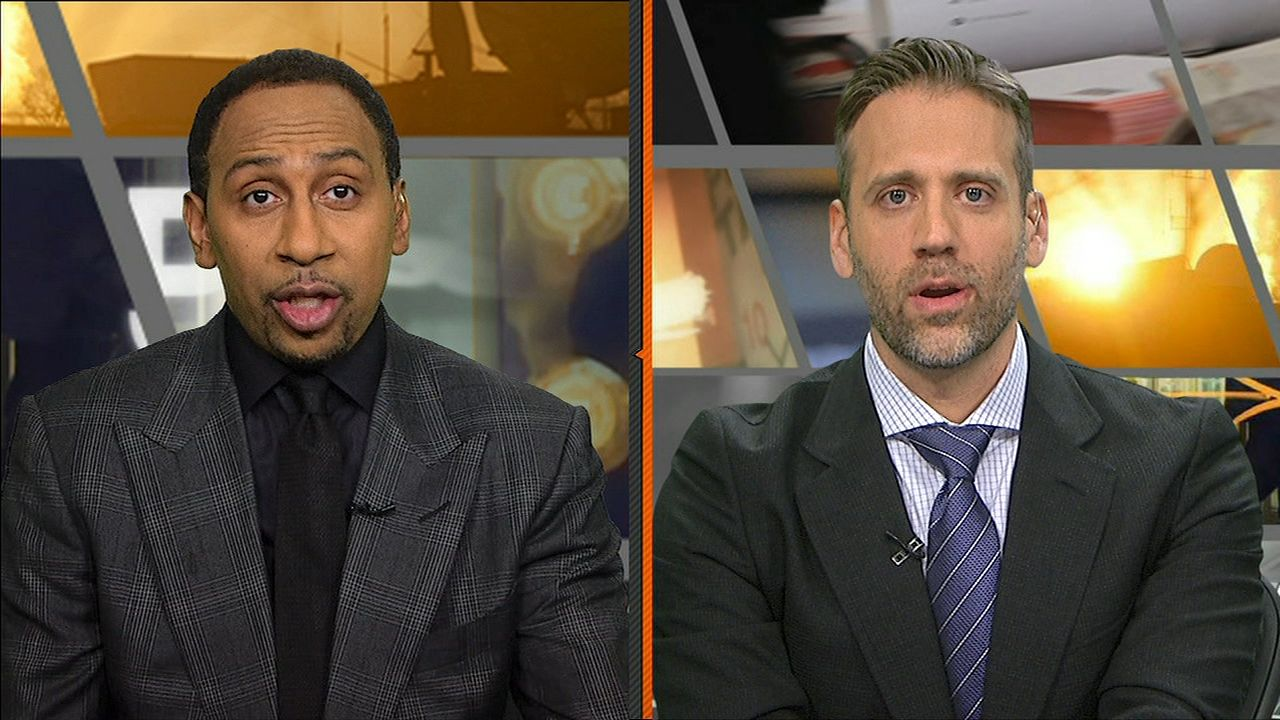 Stephen A. worried the Pats will crush Steelers