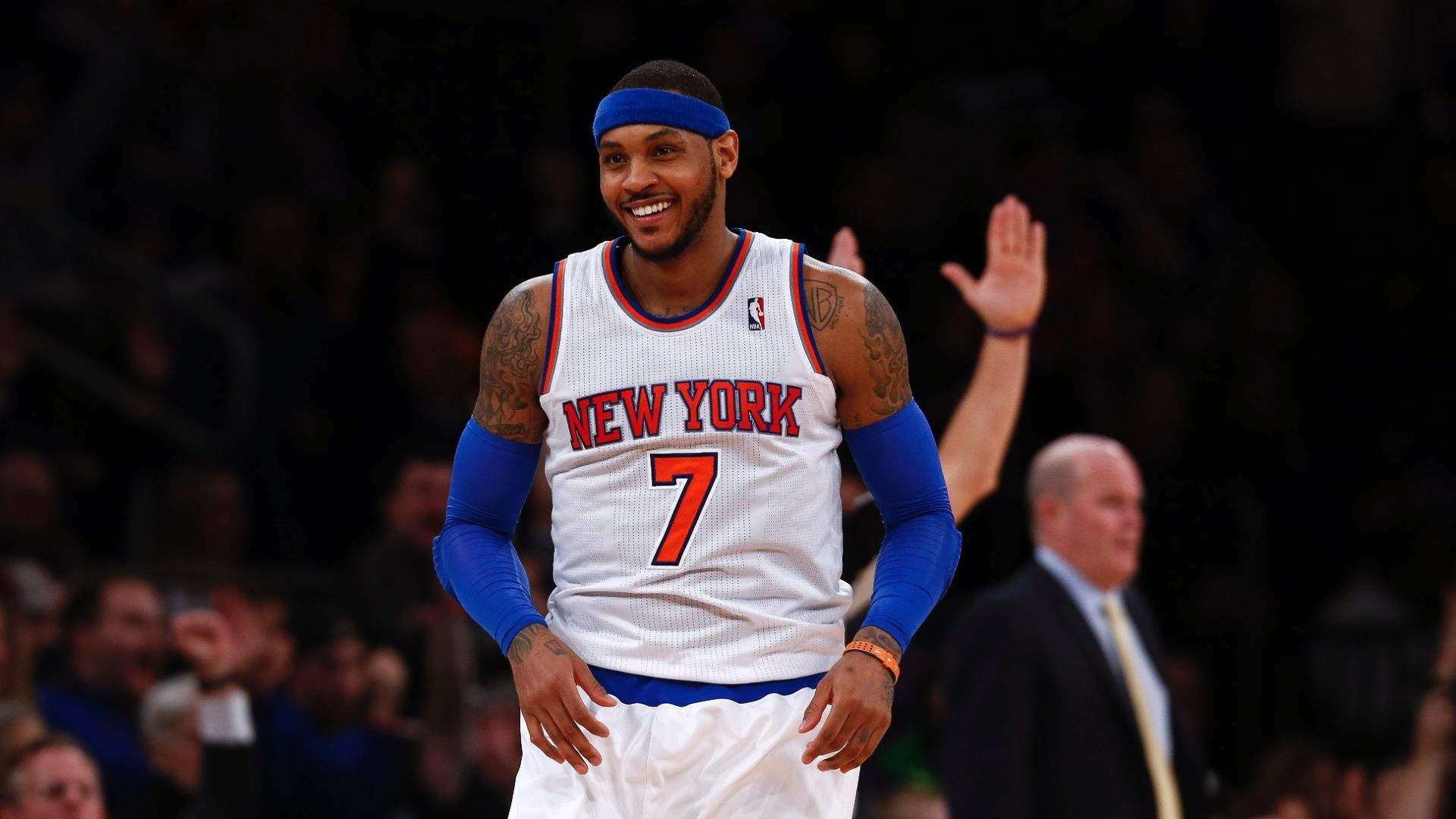 Relive Melo's greatest moments as a Knick