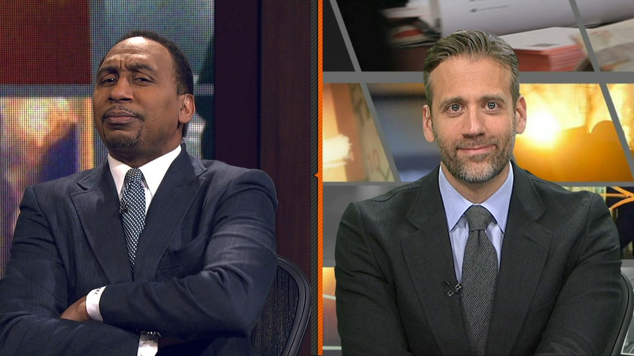 Stephen A.: 'Steelers are winning' against Pats